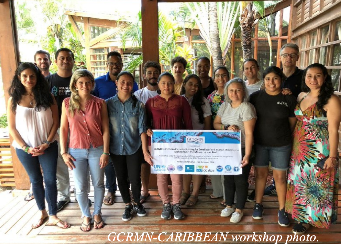GCRMN-Caribbean Capacity Building for Coral Reef and Human Dimensions Monitoring in the Wider Caribbean Region
